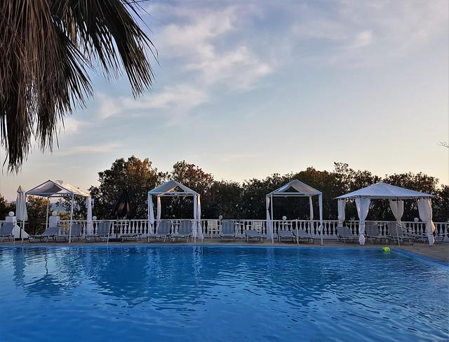 Swimming Pool and Sun Shade Gazebos - Hotel Bianco Olympico