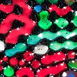 Ferrofluid with watercolor II