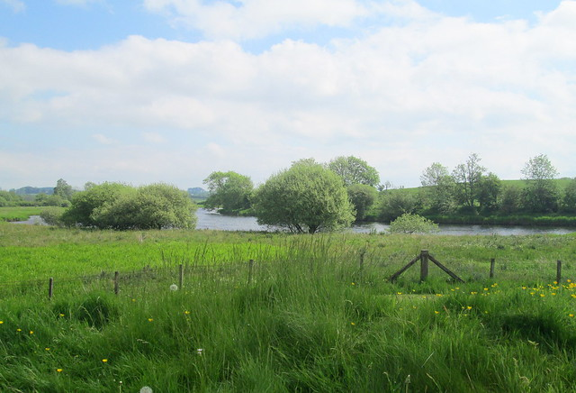 View of River Dee at Threave Castle