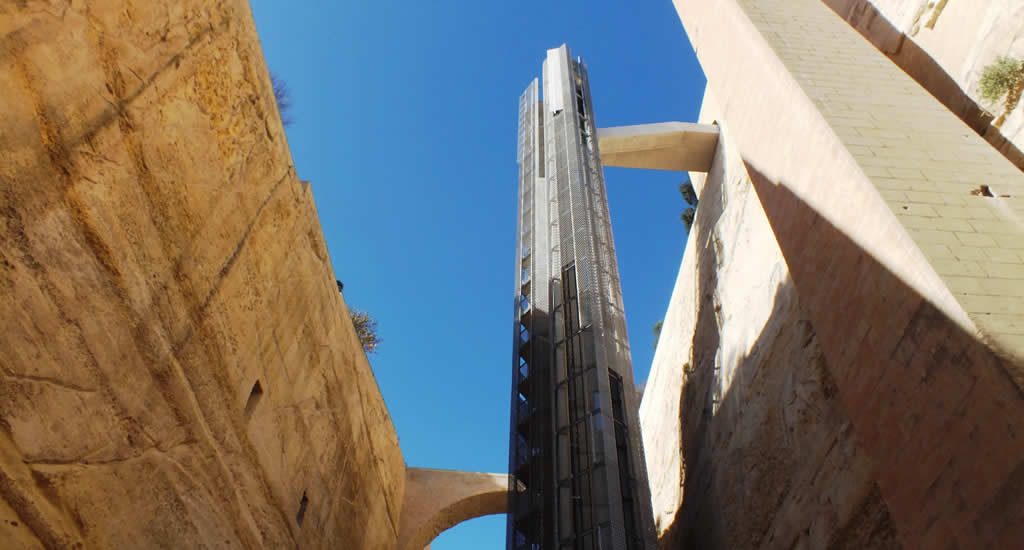 Barrakka Lift, Valletta | Malta & Gozo