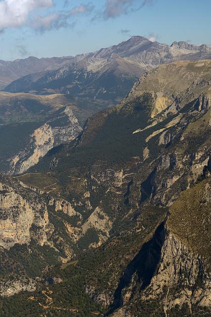 Vista al N desde P. Montañesa