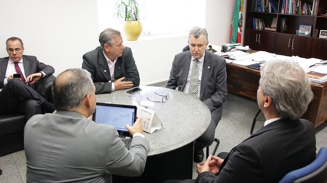 02/10/2019 Reunião Aprosoja | Gabinete Brasília