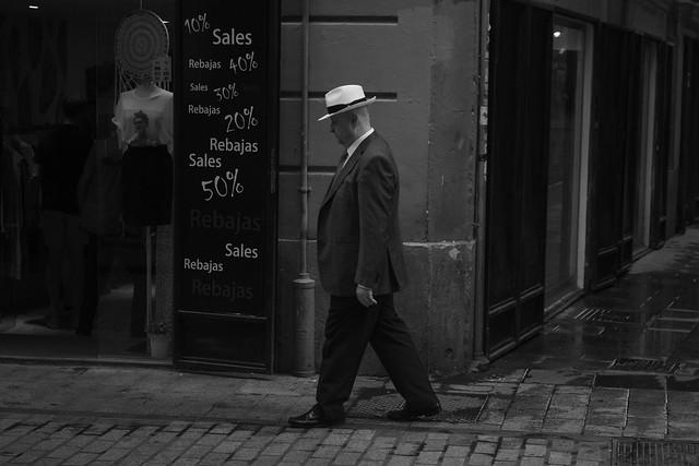Hombre con sombrero