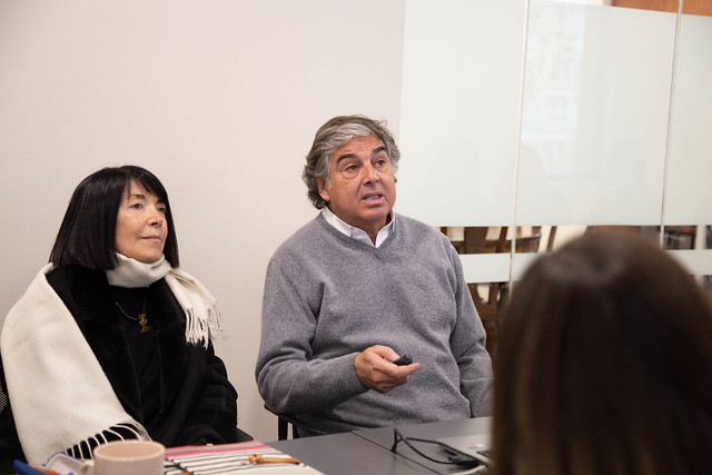 Diplomacia Cultural - Gonzalo Mardones y Paulina Sir, arquitectos.