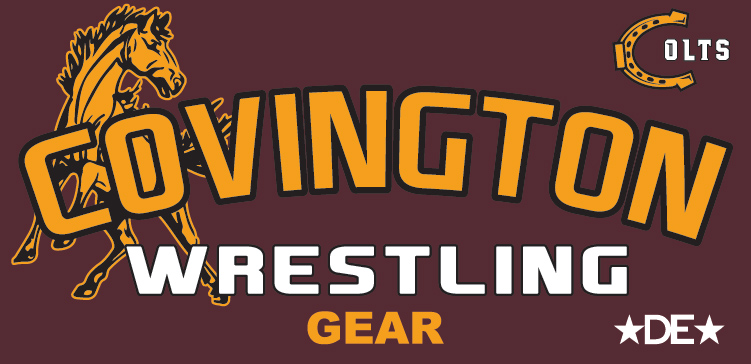 Covington Colts Wrestling Gear