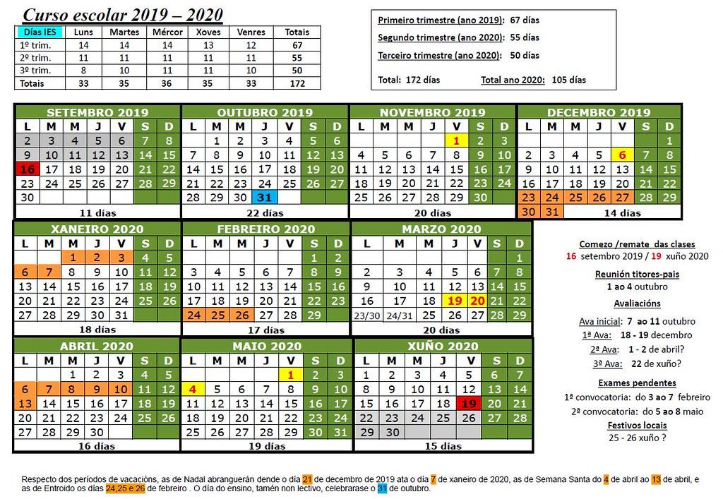 19-20 calendario