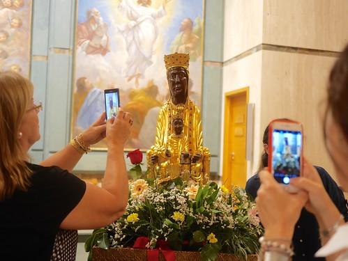 Visita de la Virgen Peregrina de Torreciudad. Octubre 2019
