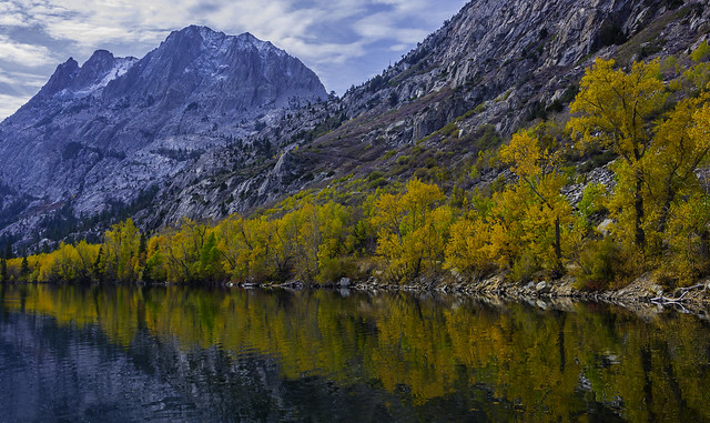 Reflecting On Fall Colors In The Eastern Sierras