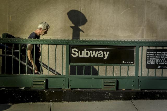 Subway, Manhattan. New York City.