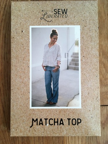 Summer Sewing:  Matcha Top in Italian Voile | by patternandbranch