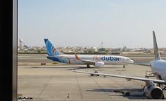Flydubai B737-8KN, A6-FEI, as FZ 24 BAH-DXB