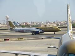 Gulf Air A321-231, A9C-CD, as GF 57 BOM-BAH