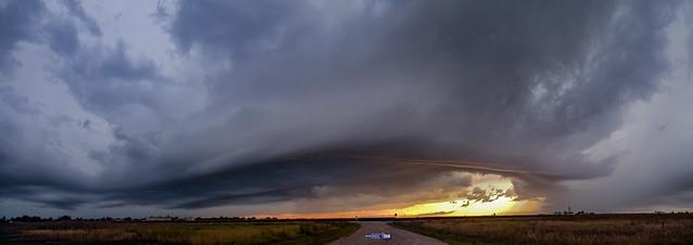082919 - Thunderstorm & Thunderheads 001 (Pano)