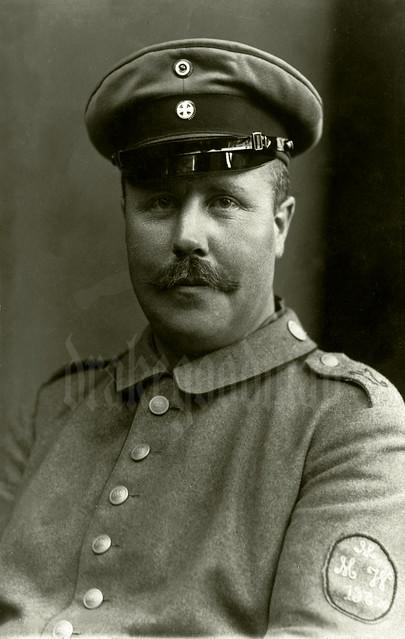 Landsturm Pionier-Gefreiter Eduard Hille, mittlere Minenwerfer Abteilung Nr. 197