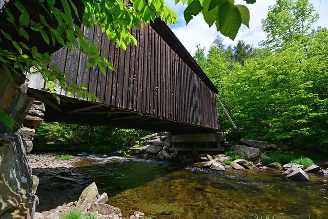 Bendo Covered Bridge - Livingston Manor NY - Willowemoc Creek
