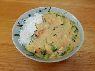 Red Lentils in Peanut Butter Sauce
