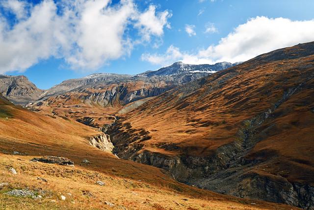 France - Alpes - la Vanoise - route de l'Iseran