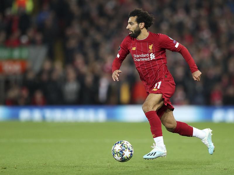 Mohamed Salah。(達志影像資料照)