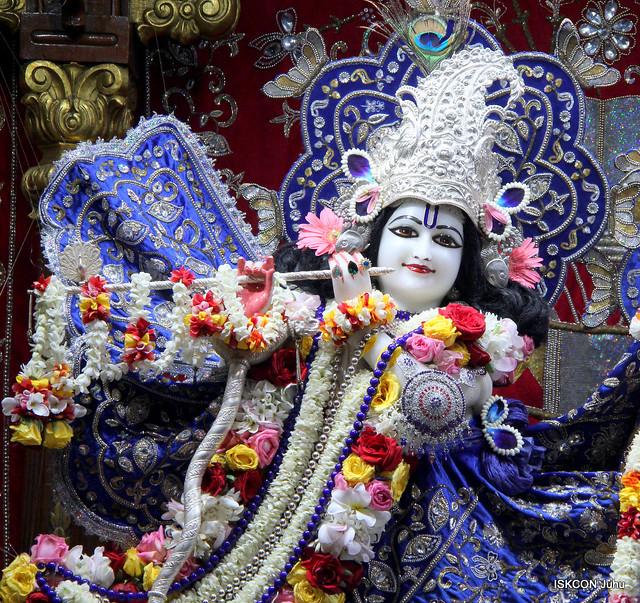 ISKCON Juhu Sringar Deity Darshan on 3rd Oct 2019