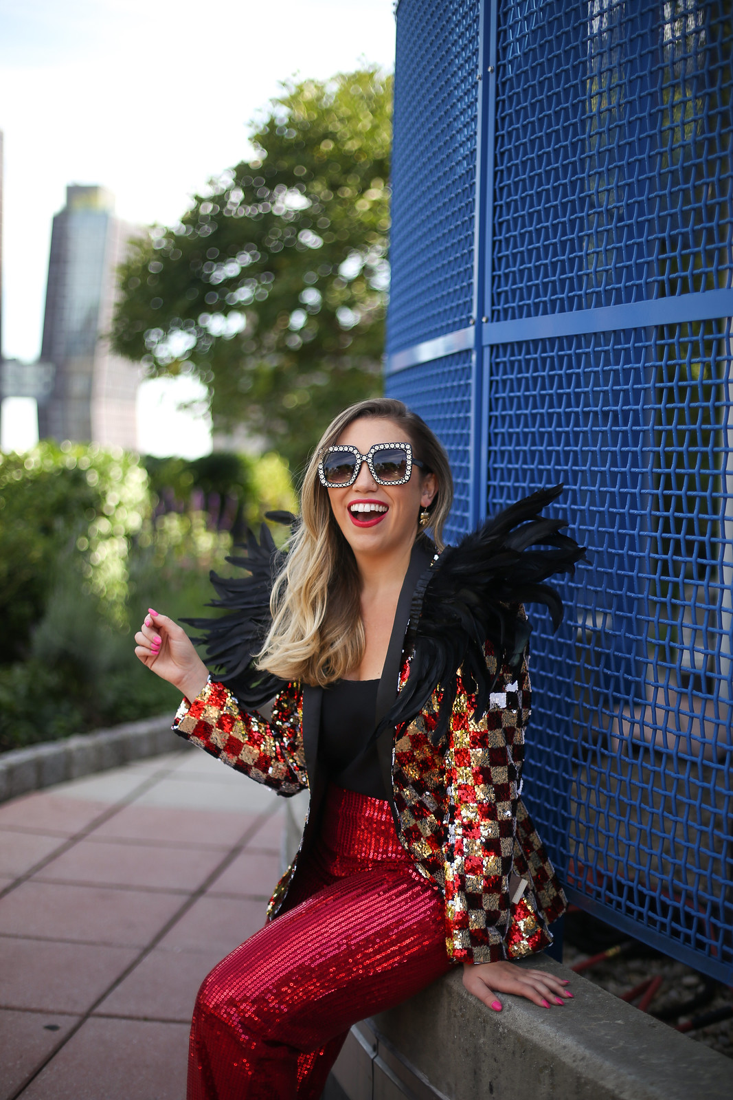 Group Halloween Costumes | Rock Legends | Legendary Rockstars | Elton John | Glam Sequin Costumes