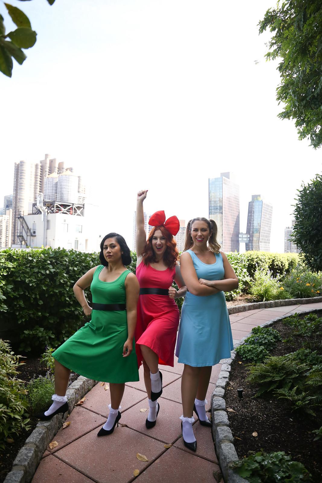 Powerpuff Girls Halloween Costumes | Easy Amazon Prime Halloween Costume Ideas | One Dress Halloween Costume | Girl Group Costumes | Best Friends Halloween Costumes