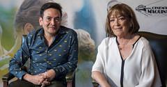 Alejandro Andrade y Carmen Maura