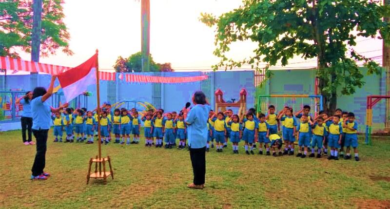 Perayaan Kemerdekaan RI ke-74 Model Anak TK