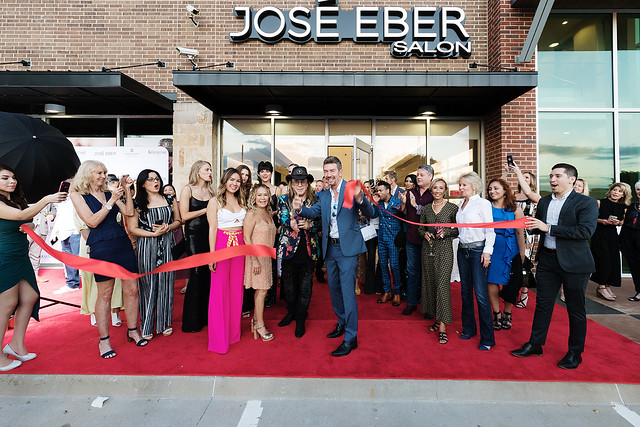 José Eber Plano Salon Opening
