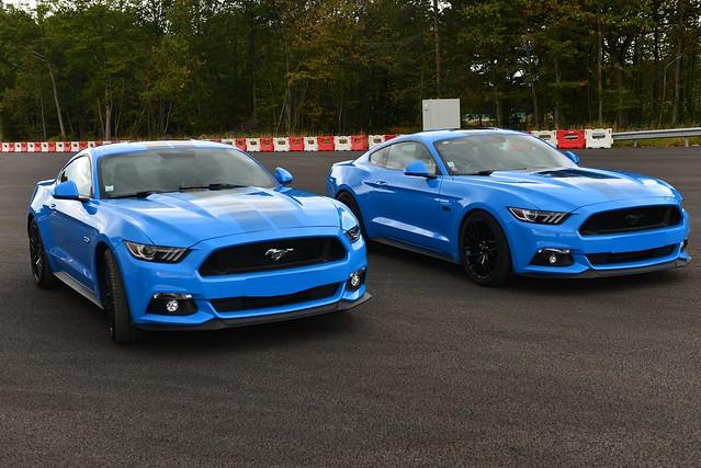 2019 Ford Mustang VI Grabber blue