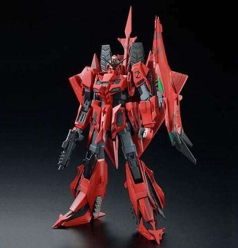 紅蛇再現江湖!MG 1/100《GUNDAM EVOLVE..》Z鋼彈3號機P2型 RED ZETA(MSZ-006P2/3C ゼータガンダム3号機P2型 レッド・ゼータ)