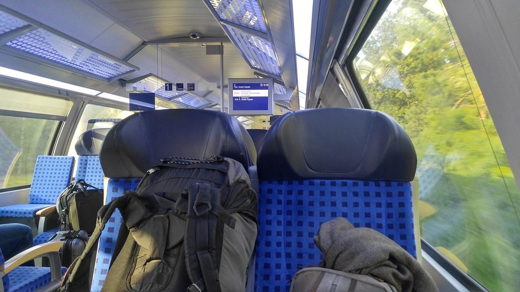 S-Bahn zum Flughafen Dresden Klotzsche