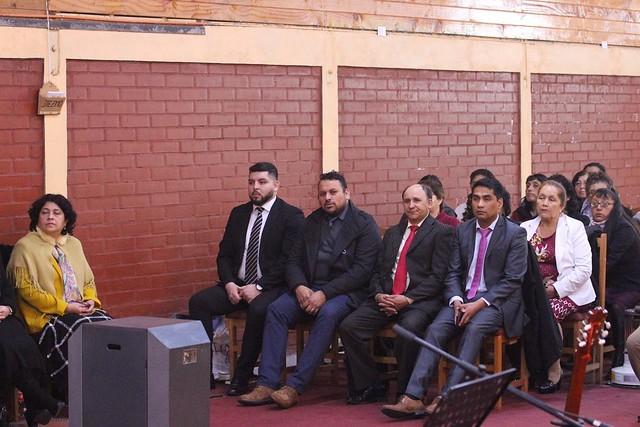 Presentación de pastores en Iglesia de Tolten