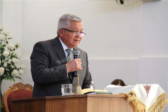 Mes de la biblia en Iglesia de Parral