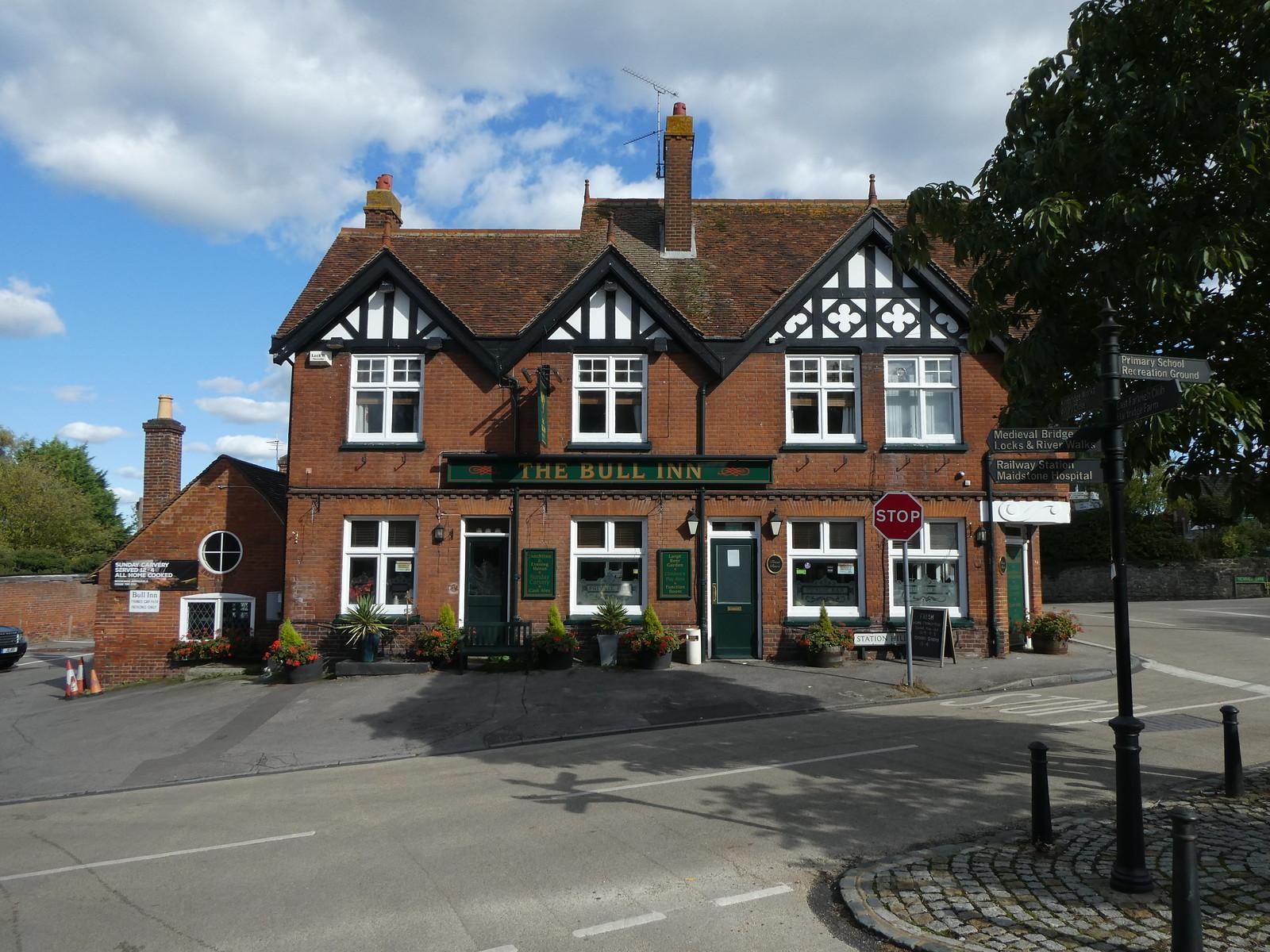 The Bull Inn, East Farleigh Wateringbury Circular walk