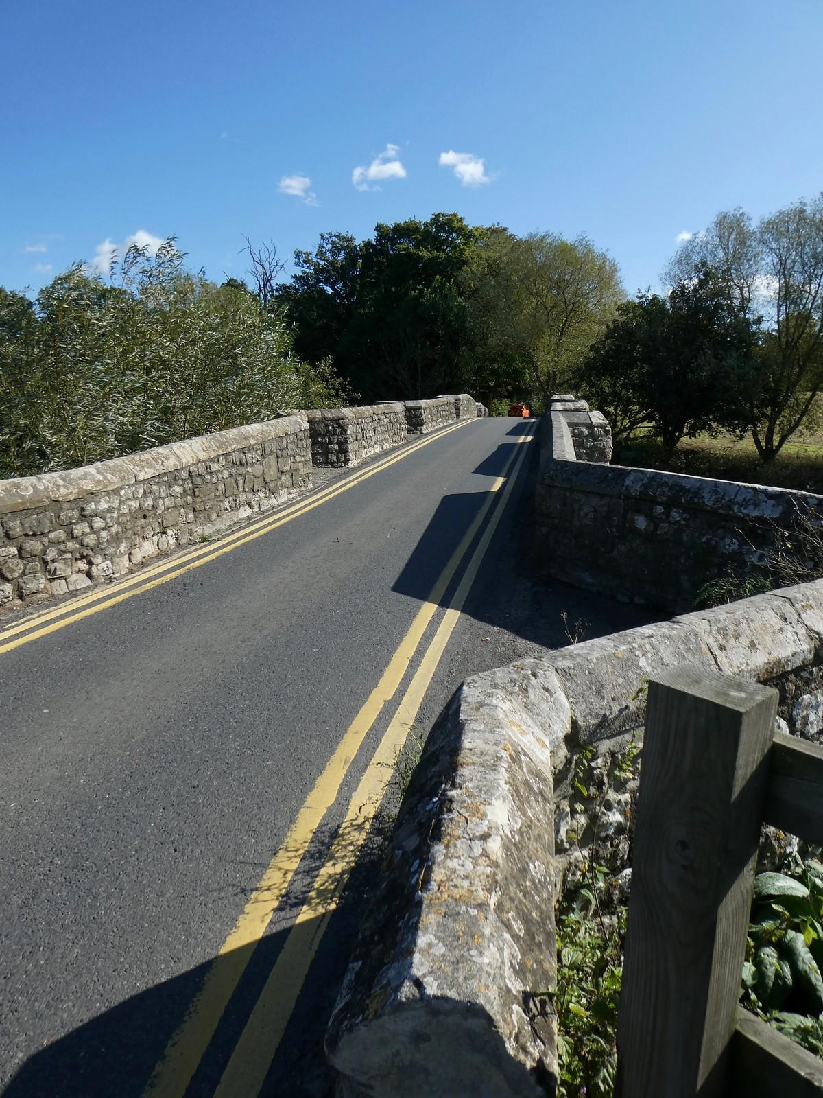 Crossing Teston Bridge Wateringbury Circular walk