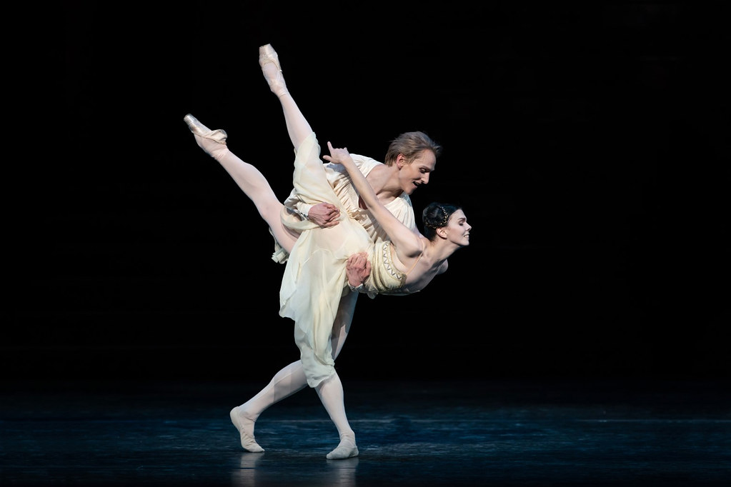 Natalia Osipova and David Hallberg in Romeo and Juliet Matthew Ball as Albrecht in Giselle, The Royal Ballet © 2018 ROH. Photographed by Helen Maybanks