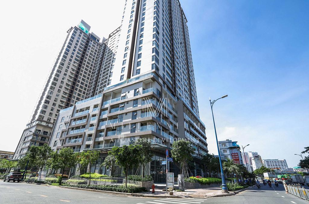 Bán căn hộ penthouse dự án Millennium quận 4, đường Bến vân Đồn.