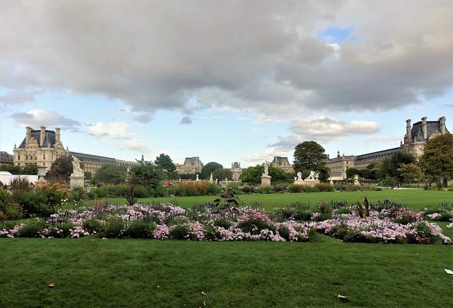 Paris - Jardín des Tuileries.