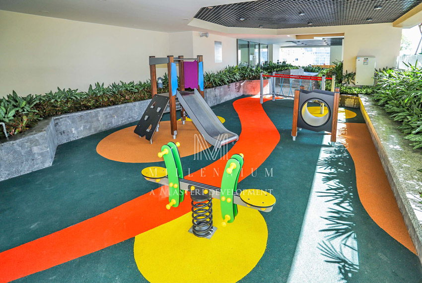 Khu tiện ích dành cho trẻ em bên trong dự án Millennium.