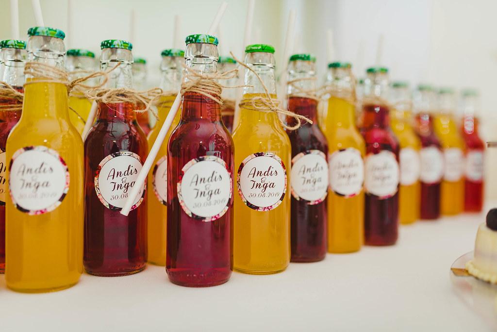 Refreshing Homemade Bottles Of Lemonade