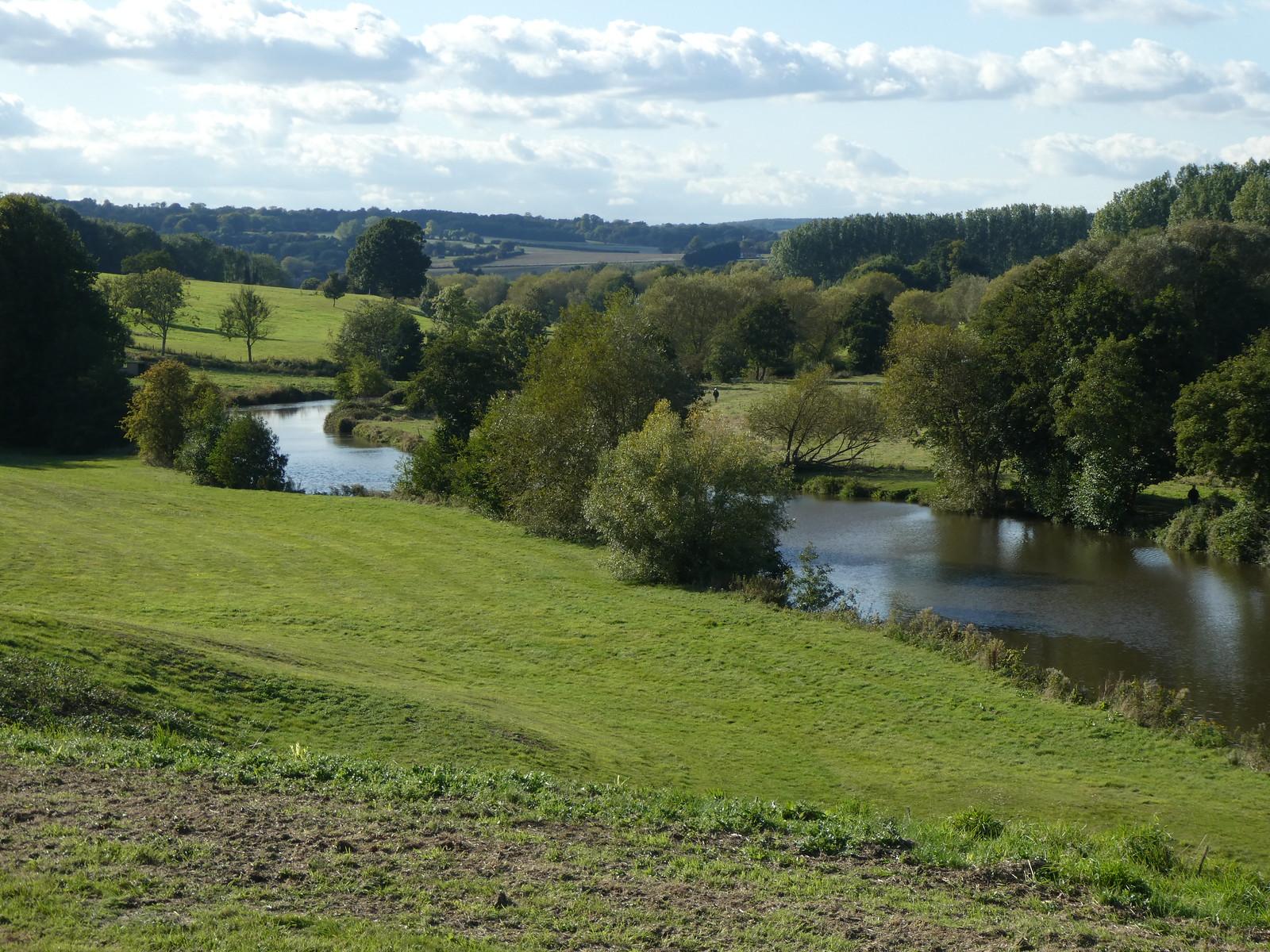 The view from near Tutsham Hall Wateringbury Circular walk