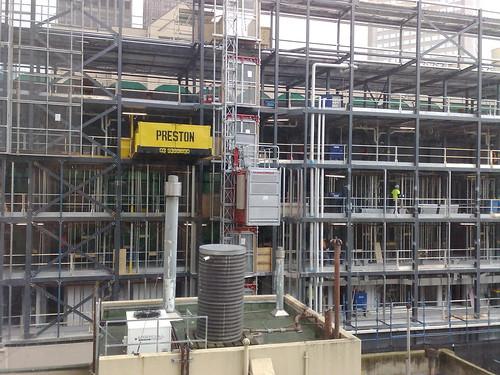 Myer Melbourne under construction, September 2009