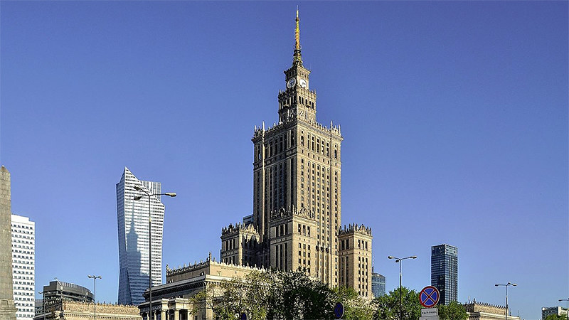 The Palace of Culture and Science, Warsaw, Poland