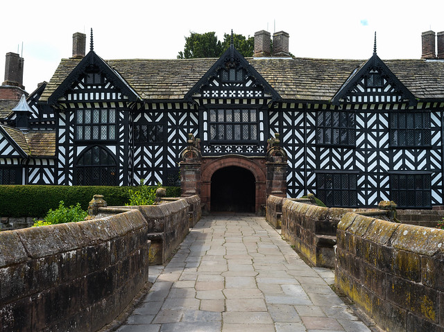 Entrance to Speke Hall.