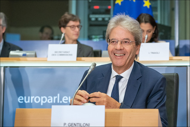 Hearing with Paolo Gentiloni  🇮🇹 , candidate commissioner for  economy  🇪🇺