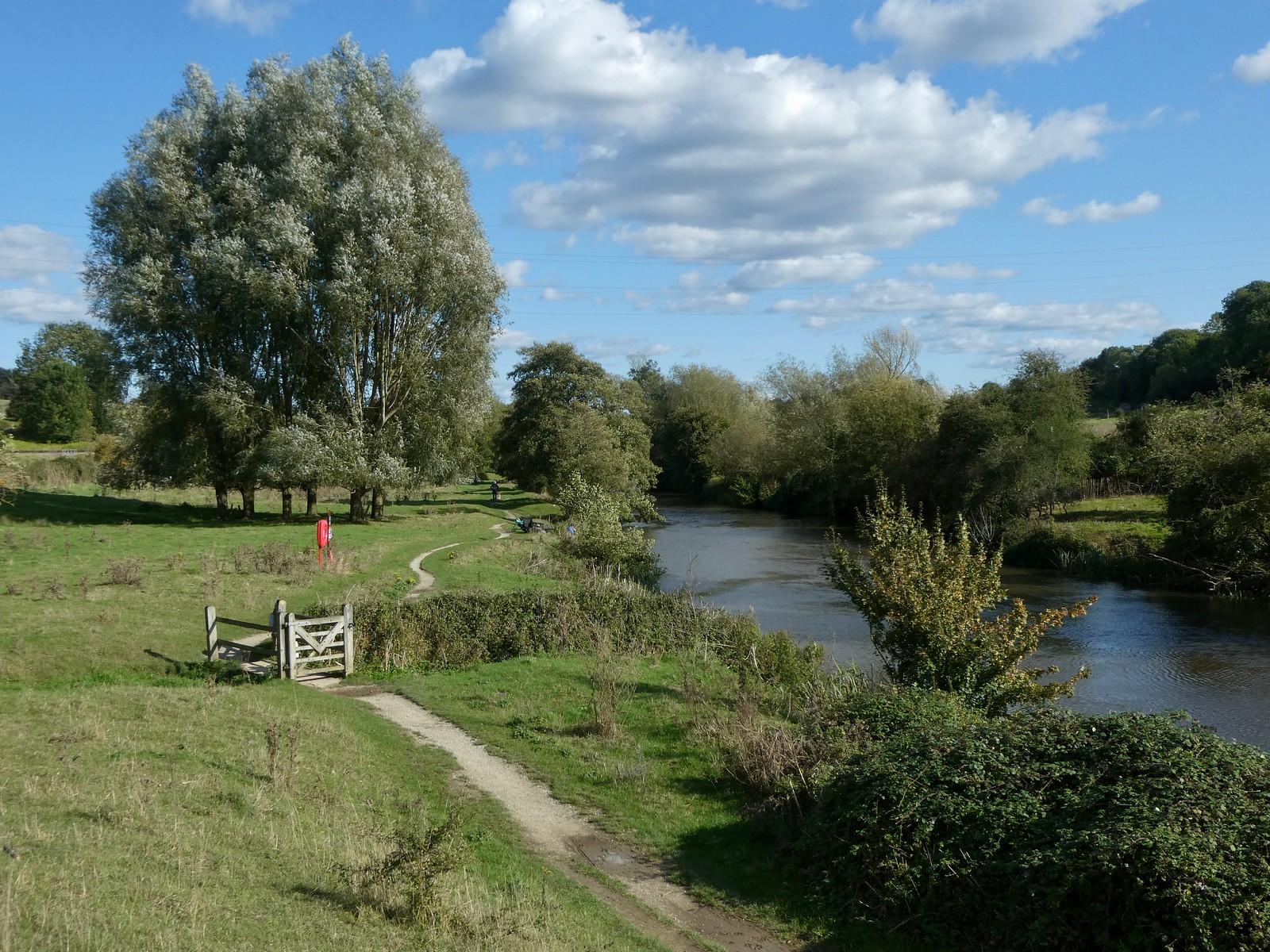Riverside in the afternoon Wateringbury Circular walk