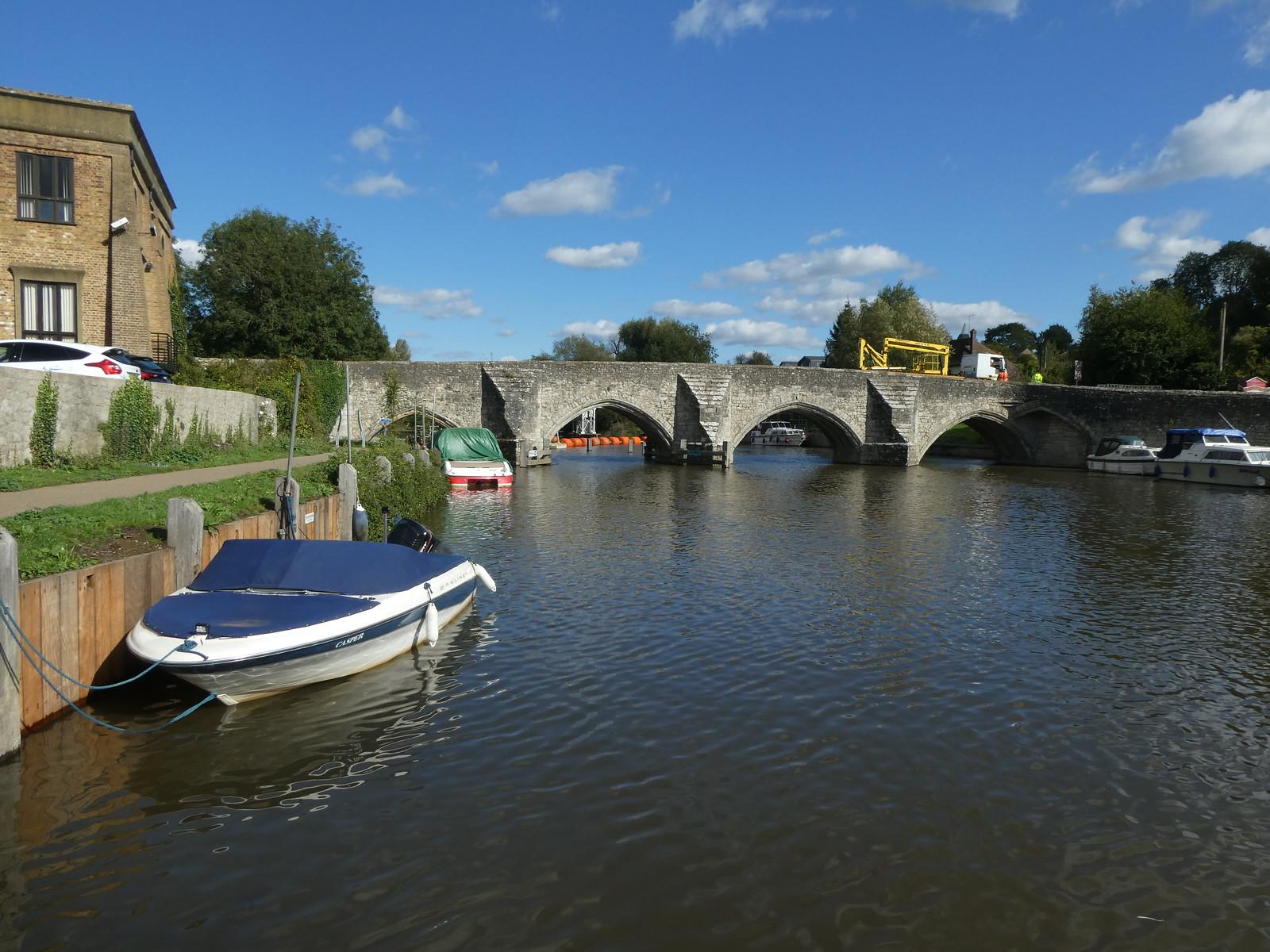 East Farleigh Bridge Wateringbury Circular walk