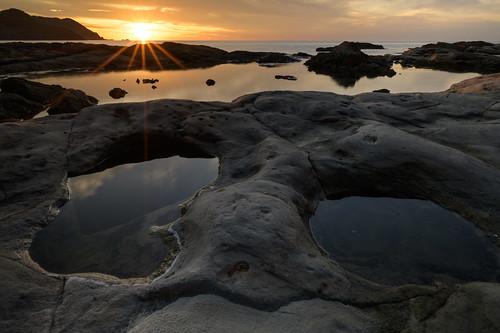 豊岡市 兵庫県 japan 但馬 海岸 seashore 夕景 sunset 竹野海岸