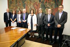 02/10/2019 - Deusto y la Real Academia de Medicina del País Vasco aúnan fuerzas para promover formación e investigación en el ámbito de las ciencias de la salud