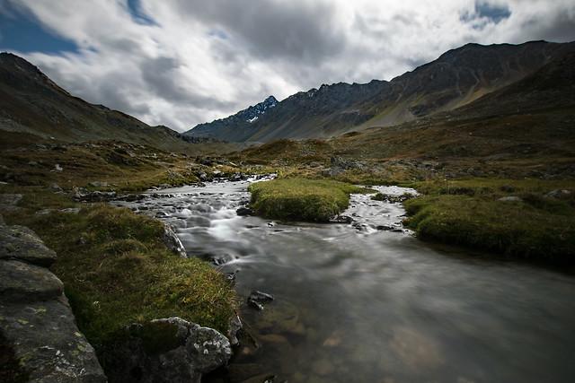 glistening creek